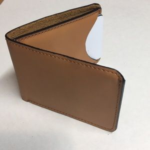 Other - Leather Wallet,slim wallet ,real leather handmade